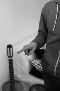 Pointer le doigt