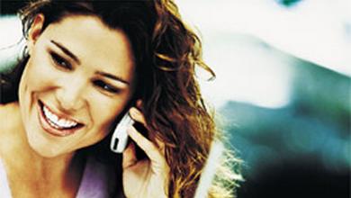Femme et téléphone portable