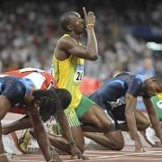 Le langage corporel d'Usain Bolt