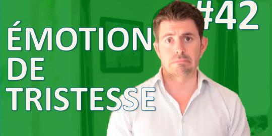 Tristesse - émotion universelle