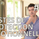 Gestes de protection émotionnelle