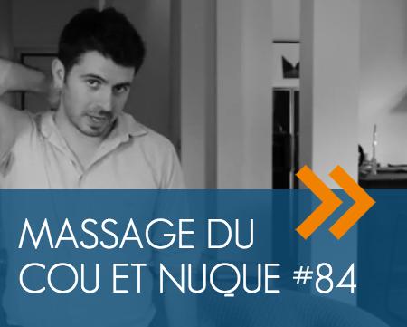 massage du cou