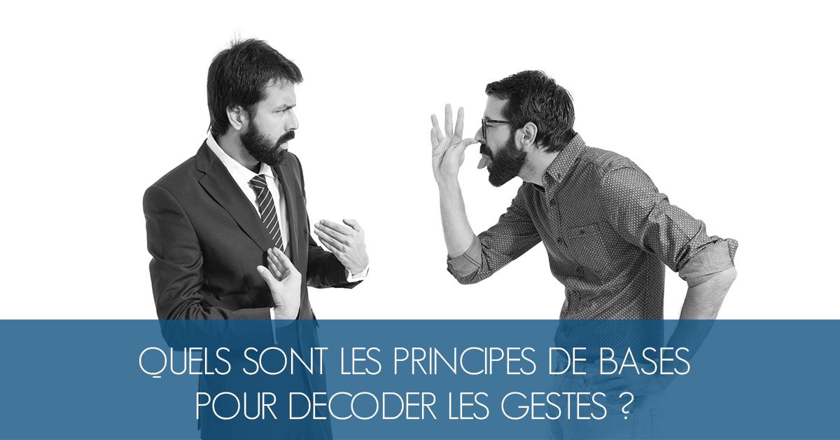 principes base decoder gestes