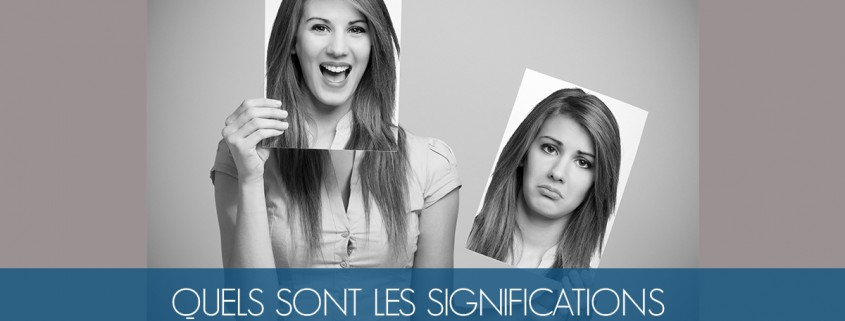 significations micro expressions